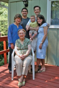 Image of four generations of Loyas